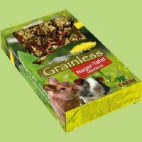 Без зърнено парче за гризачи от хибискус – 125 гр