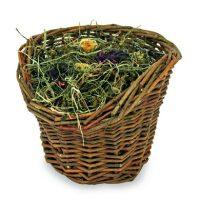 Върбова кошница със сено – 120 гр