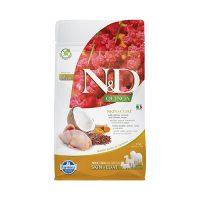 N&D DOG QUINOA SKIN&COAT QUAIL 0.800 KG с пъдпъдък