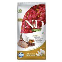 N&D DOG QUINOA SKIN&COAT QUAIL 7 KG с пъдпъдък