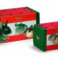 Транспортна кутия за малки гризачи.Размери: 16х9х10