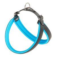 AGILA FLUO размер 5 HARNESS BLUE нагръдник за куче