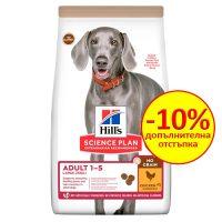 605377 SP Dog Adult NO GRAIN Large BreedChicken 12KG – без зърнени култури , пилешко суха храна