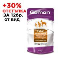 0629 Пауч хапки DOG GEMON Adult 100g- дивеч /куче/