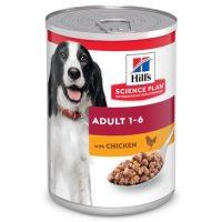 604221/8037 Консерва SP CAN Dog Adult с пилешко 370g к