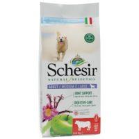 SCHESIR ШЗНС Natural Selection суха куче адълт медиум говеждо 2.24 кг