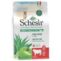 SCHESIR Natural Selection За израснали кучета от дребни и ТОЙ породи с говеждо месо 4.5 кг