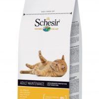 SCHESIR Adult пиле – храна за котки над 12 мес 400 гр