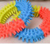 Гумена играчка за дъвчане за куче, 10 см