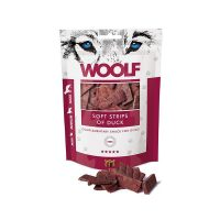 WOOLF Soft Strips of Duck – Малки ленти патешки филенца 100 гр