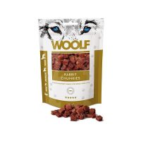 WOOLF Rabbit Chunkies – Малки кубчета заешко 100 гр
