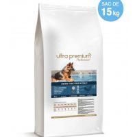Ultra Premium Direct Puppy large breeds – суха храна за подрастващи кученца от едри породи, с ниско съдържание на зърно, 45% месо и месни съставки, 15 кг