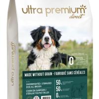 Ultra Premium Direct Overweighted/sterilised dog all breeds – суха храна за кучета с наднормено тегло и/или кастрирани, без зърно, 50% месо и месни съставки, 12 кг