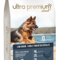 Ultra Premium Direct Adult large breeds – суха храна за пораснали кучета от едри породи, с ниско съдържание на зърно, 45% месо и месни съставки, 12 кг