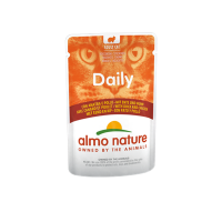 Almo Nature Daily With Duck And Chicken – С патица и пиле 70 гр