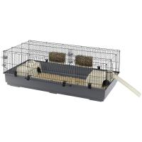 Голяма клетка за зайци. Размери: 140 x 71 x h 51 cm