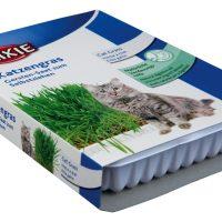 Трева за котки 100гр. в купичка Trixie Cat Grass