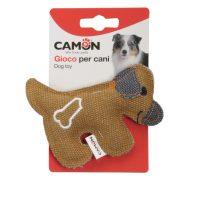 Забавна играчка от плат за кучета под формата на малки кучета 11см.