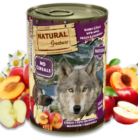 NATURAL Greatness Rabbit and Duck with Apple, Peach and Chamomile – Заек и Патица с ябълкa, прасковa и лайка, 400гр.