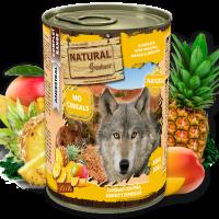 NATURAL Greatness Kangaroo with Pineapple, Mango & Spirulina – Кенгуру с ананас, манго и спирулина, 400гр.