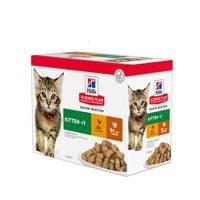 604032/2115 ПАУЧ POUCH Cat Kitten 12х85g различни вкусове пауч котка
