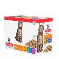 604010/2118 ПАУЧ POUCH Cat Adult FS 12х85g различни вкусове пауч котка
