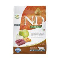 N&D CAT ADULT PUMPKIN  коте,тиква с еленово месо и ябълка 5 кг