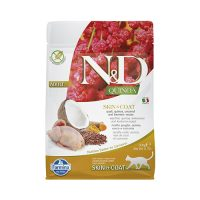 N&D CAT QUINOA SKIN&COAT QUAIL с пъдпъдък 1,5 кг