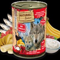 NATURAL Greatness Reindeer & Herring with Yoghurt, Banana & Strawberries – Елен и Херинга с йогурт, банан и ягоди 400гр