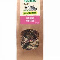 Snack Bits Hibiscus 60g – влакнести топки за гризане с хибискус и моркови