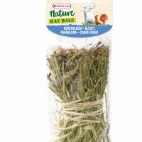 Snack Hay Bale Cornflower 70g-тимоти сено , обогатено с метличина и коприва