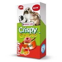 Crispy Crunchies Fruit 75G-хрупкави хапки с плодове за зайци ,чинчили ,хамстери и др.