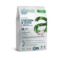 Alleva® Holistic (Adult Cat) Chicken & Duck + Sugarcane fiber & Aloe vera Hairball 1,5 kg
