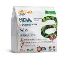 Alleva® Holistic (Adult Cat) Lamb & Venison + Cannabis sativa & Ginseng 0.400 kg