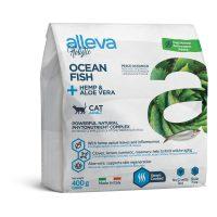 Alleva® Holistic (Adult Cat) Ocean Fish + Hemp & Aloe vera 0.400 kg
