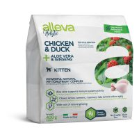 Alleva® Holistic (Kitten) Chicken & Duck + Aloe vera & Ginseng 0.400 kg