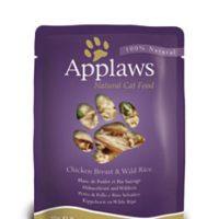Applaws Chicken with Rice in Broth – пиле с див ориз в бульон 70г