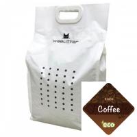 WeeLitter – Натурална, биоразградима соева котешка тоалетна, кафе 18 l