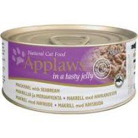 Applaws Mackerel with Seabream in Jelly – Месни хапки скумрия и ципура в желе 70г