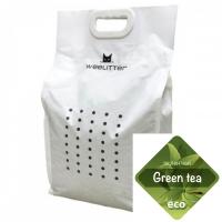 WeeLitter – Натурална, биоразградима соева котешка тоалетна, зелен чай 6 l