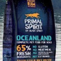 Primal Spirit Oceanland – Суха храна за куче с 45% прясна риба и 20% прясно пилешко месо – 1кг