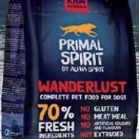 Primal Spirit Wanderlust – Суха храна за куче с 50% прясно пилешко и 20% прясна риба 1кг