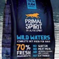 Primal Spirit Wild waters – суха храна за куче с прясна риба 50% и 20% прясно пилешко месо – 1кг