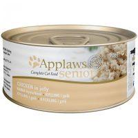 Applaws Senior Chicken in jelly – пилешко филе в желе 70г