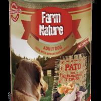 Farm Nature – Консерва за куче с патица, кайсии и трюфели 400гр