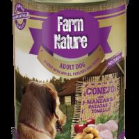 Farm Nature – Консерва за куче с заек, картофи, ябълки и мащерка 400гр