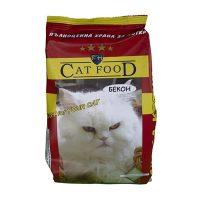 Любимец Бекон суха храна за котки 0.5 кг