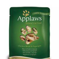 Applaws Chicken with Asparagus in Broth – Пиле с аспержи в бульон 70г