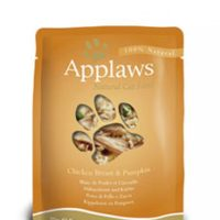 Applaws Chicken with Pumpkin in Broth – пиле с тиква в бульон 70г