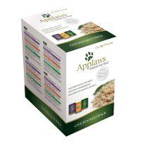 Applaws Chicken in Broth Multipack – Комбинирани паучове Пиле в бульон 12х70г